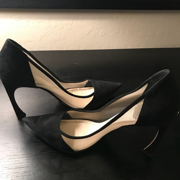 6d6604aa0b Christian Dior Shoes | Dior 780 Suede Mesh Songe Pump In Black ...